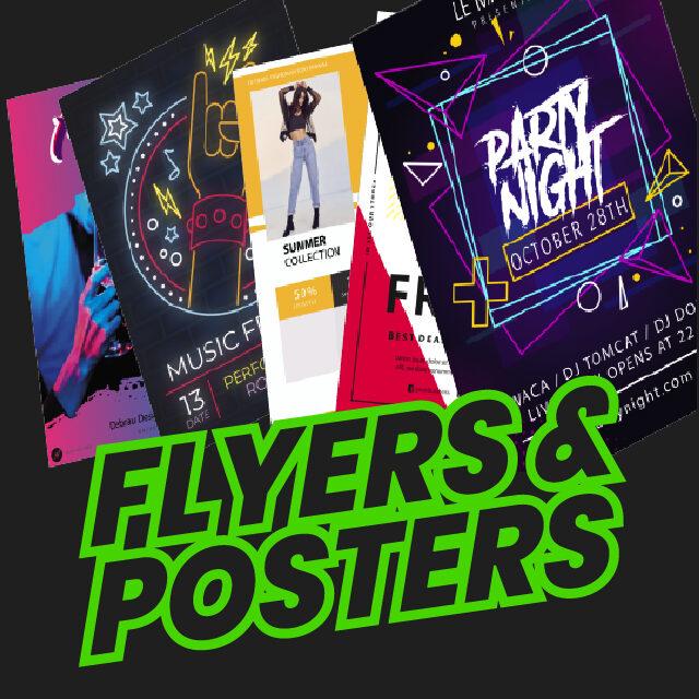 Flyers y Posters-Debrau Design Studio